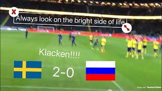 Sverige 2-0 Ryssland | KLACKEN