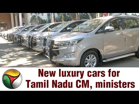 New luxury cars for Tamil Nadu CM, ministers