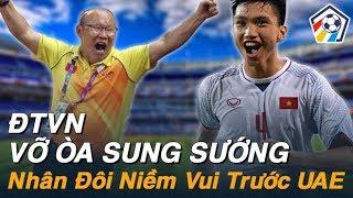 Bóng đá hôm nay 13/11: Việt Nam UAE.. Tin vui cho Đội Tuyển Việt Nam I Nhịp Đập Bóng Đá