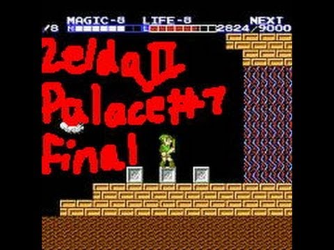 Zelda II Great Palace 7 with ending