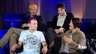 Red Hot Chili Peppers' Anthony Kiedis And Flea Talk About Being In The Daddy Club - On The Rec