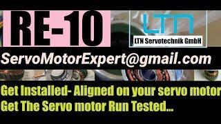 RE-10 RE 10 RE10 LTN Resolver install Adjust Align on Servo motor- India | UAE