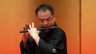 笛演奏 「乱序と獅子狂い」 ~伝統音楽デジタルライブラリー
