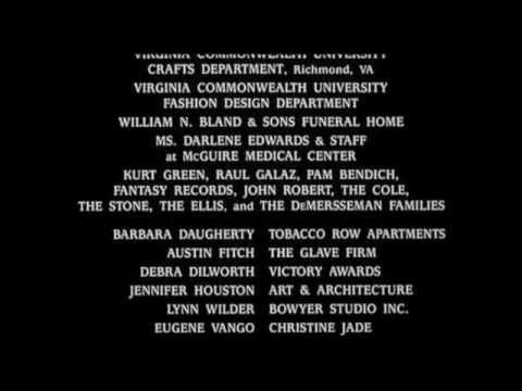 """Lionel Cole sings over the end credits of """"Asunder"""" (1999)"""