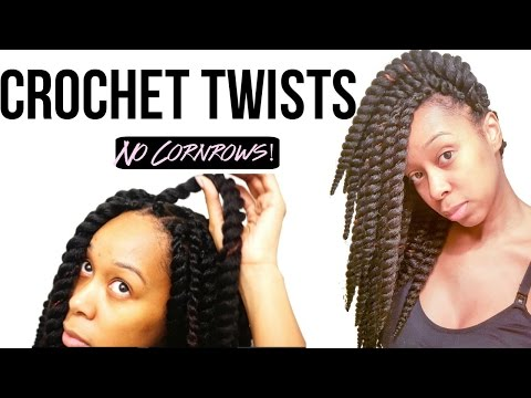 How To Crochet Braids Without Cornrows Doovi