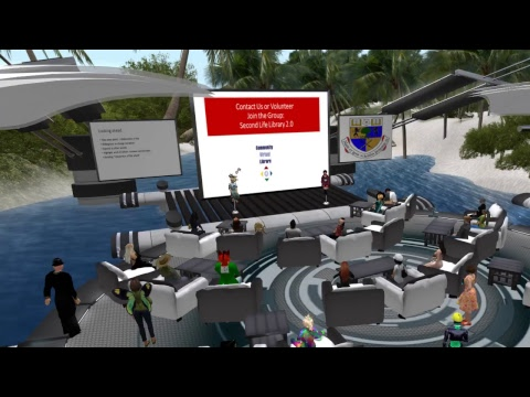 VWBPE 2018 Lecture: Innovative Virtual Libraries: Research & Design