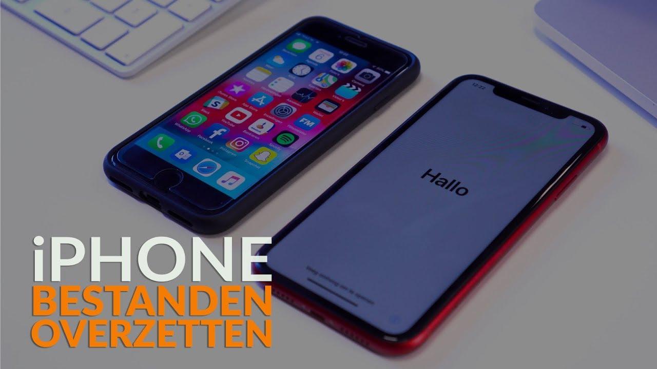 iPhone bestanden overzetten: Zo zet je alles van je oude naar je nieuwe iPhone over