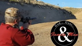 Just for fun: Shooting the Mini-Uzi