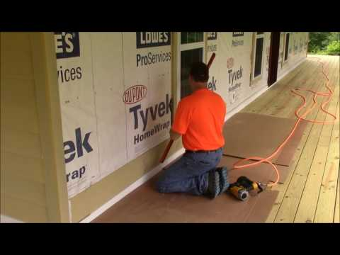 Building My Own Home: Episode 68 - Siding the Front Wall Part 1
