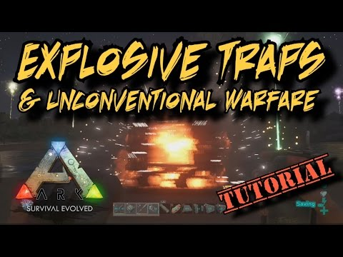 Explosive Traps & Unconventional Warfare (the IED and C4) - Ark Survival Evolved