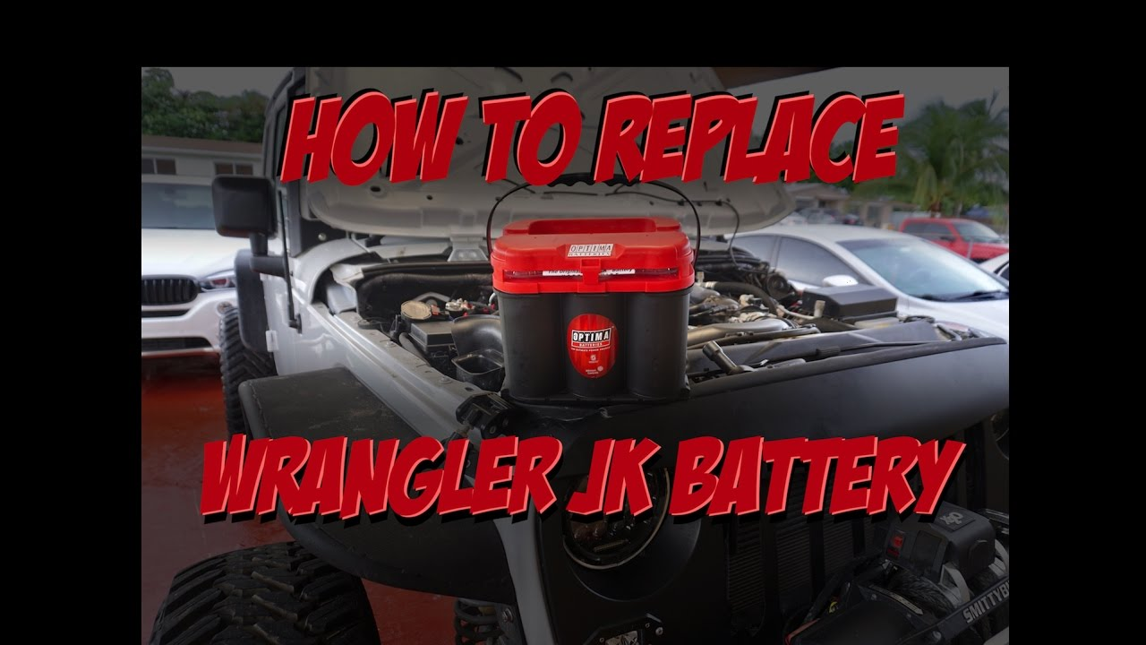 Jeep Wrangler Jk Battery Upgrade How To Replace