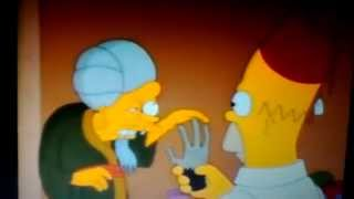 The Simpsons monkeys paw