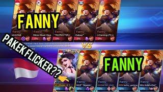 Fanny vs Fanny  flicker?