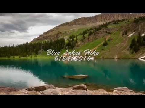 Blue Lakes Hike/Fishing 6/24/2016