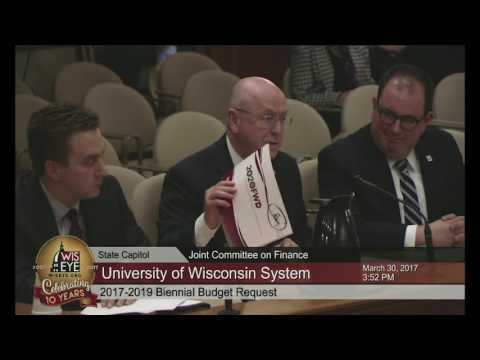 Morning Minute: UW Leader Briefs JFC on Agency Budget Needs