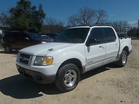 Ford Explorer Sport Trac XLS Review YouTube - 2002 explorer
