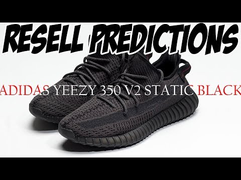 YEEZY 350 V2 BLACK | RESELL PREDICTIONS | ADIDAS YEEZY BOOST