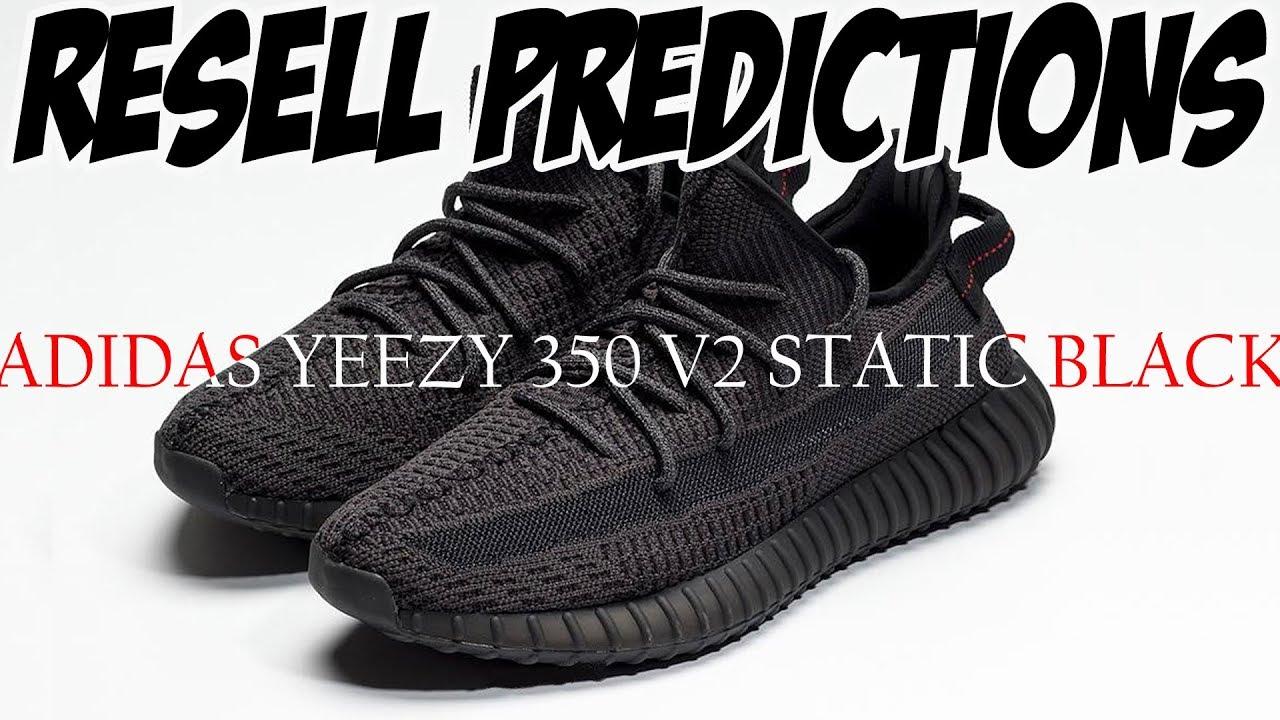 YEEZY 350 V2 BLACK | RESELL PREDICTIONS | ADIDAS YEEZY BOOST 350 V2 BLACK | BLACK YEEZY 350 V2