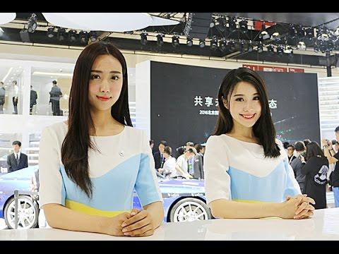 5중국 자동차 회사 소개와 언니들 모음(Girls @ Beijing Motor Show) - 2016.04.25