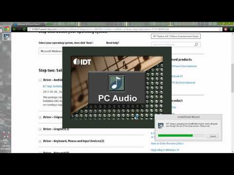 Installing missing Beats audio after Windows 8 Upgrade HP