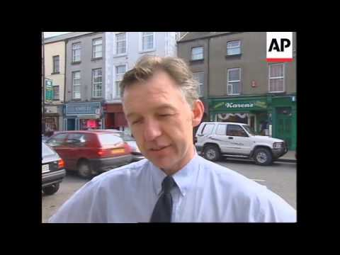 IRELAND: DUNDALK: REACTION TO THE REAL IRA'S OMAGH BOMBING ADMISSION