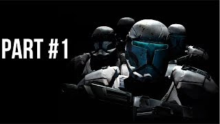 Star Wars: Republic Commando Walkthrough Part 1 (No Commentary)