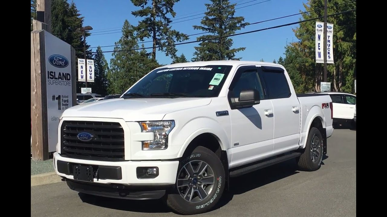 2016 ford f 150 xlt fx4 sport supercrew 4x4 w custom leather interior review island ford. Black Bedroom Furniture Sets. Home Design Ideas