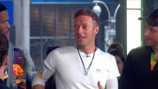 Coldplay Live on 'GMA' | Chris Martin Previews World Tour