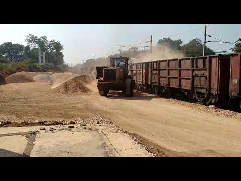 Our Quartzite Rake Loading at Bobbili Railway Siding