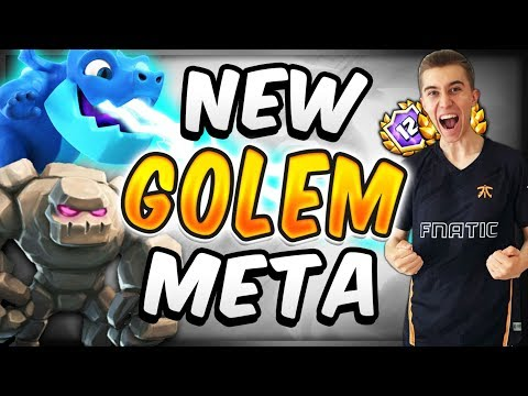 The ONLY Golem Deck I Play In This Meta! — Clash Royale