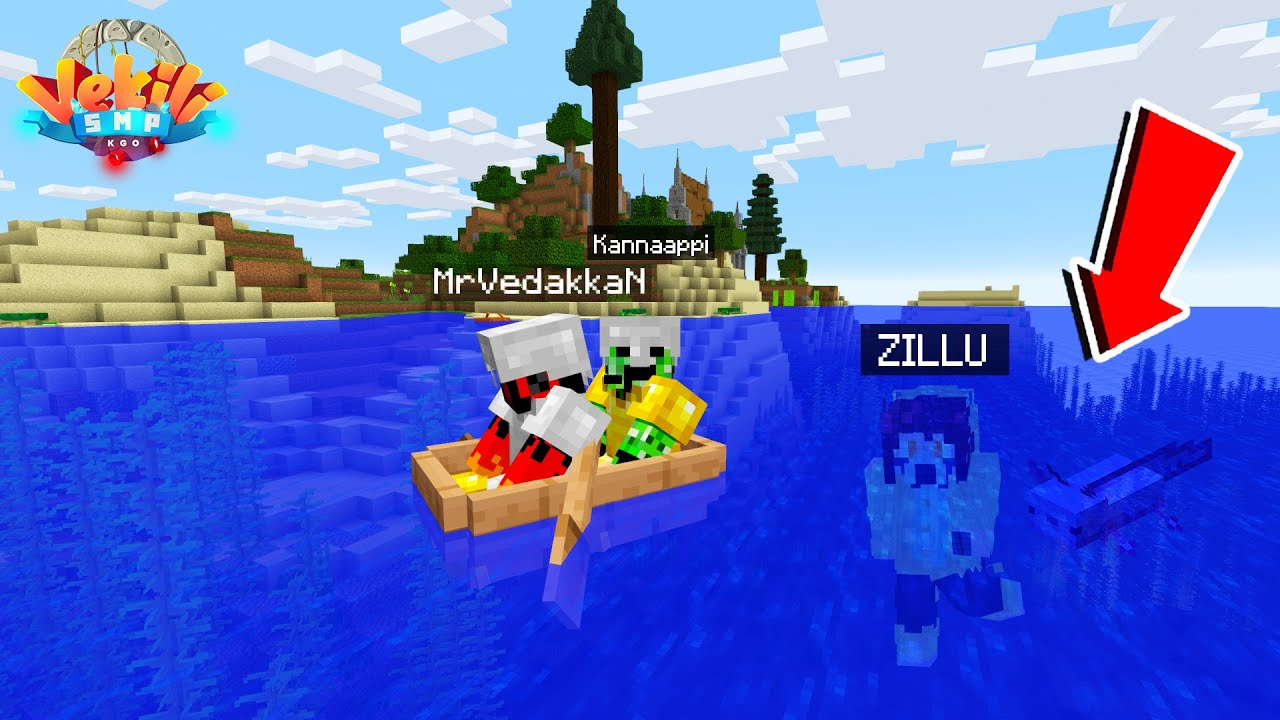 In Search of Zillu | WE LOST ZILSILA in VEKILI SMP !!
