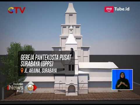 Kronologis Ledakan Bom Tiga Gereja di Surabaya - BIS 14/05