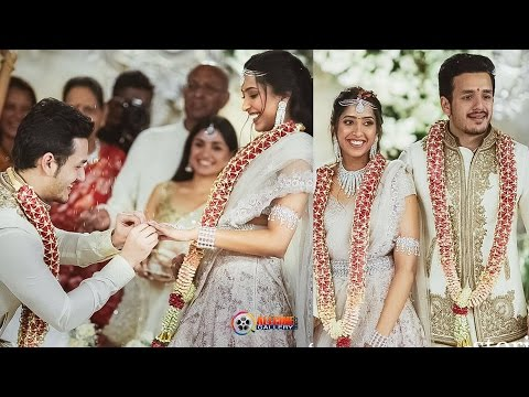 Akhil Akkineni Engagement with Girlfriend Shriya Bhupal