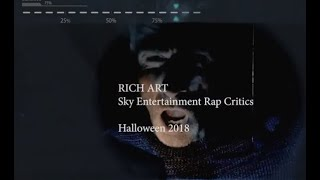 Halloween 2018 Rich Art Story Rapkritik/german