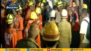 3 Killed, Many Trapped | in Twin Building Collapse | in Greater Noida