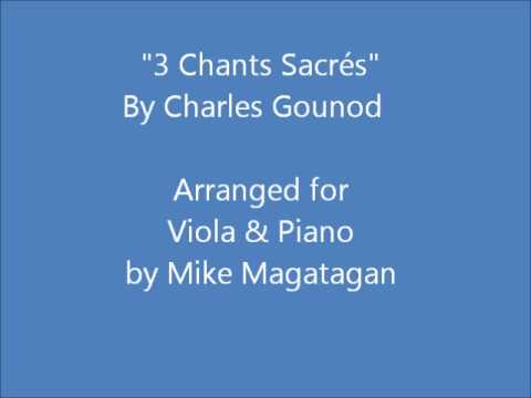 """3 Chants Sacrés"" for Viola & Piano"
