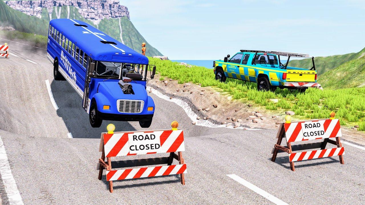 Download Cars vs Massive Potholes #5 – BeamNG Drive | CrashBoomPunk