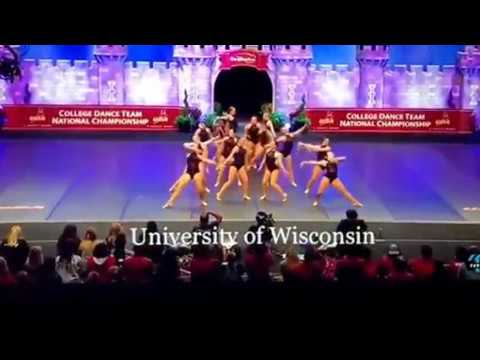 University of Wisconsin Dance Team 2018