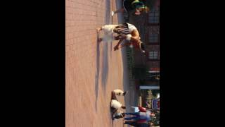 Zulu cultural dance @ Gold Reef City