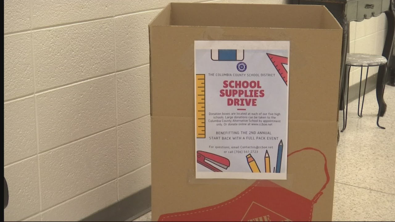 Columbia County Schools to host supply drive for students in need