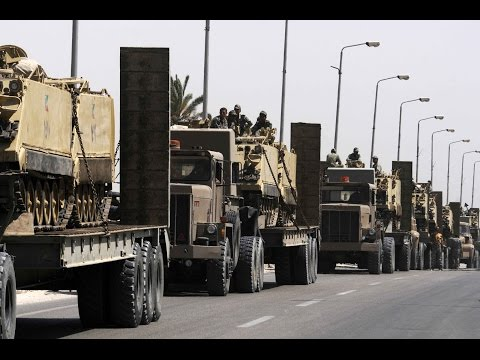 11 militants killed in army raids in Egypt's Sinai