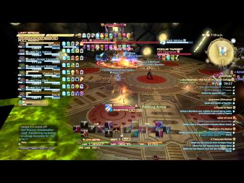 How to show act parse ffxiv obs