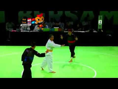 highlight Pencak Silat The best techniques and performance, Sea Games 2017