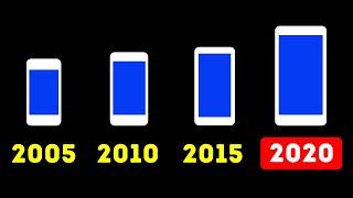 Почему с годами смартфоны увеличиваются в размерах