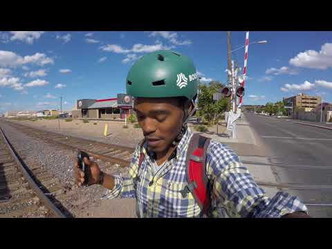 Boosted Board Ride in Downtown Albuquerque New Mexico! Day 3# on🚃 Amtrak