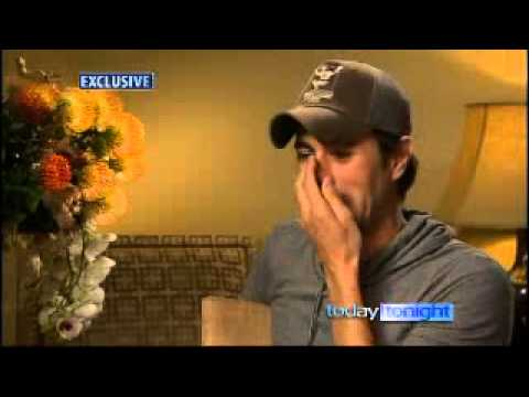 Enrique Iglesias Open up in an Interview