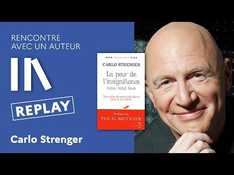 Rencontre avec un auteur - Carlo Strenger, La peur de l'insignifiance nous rend fou