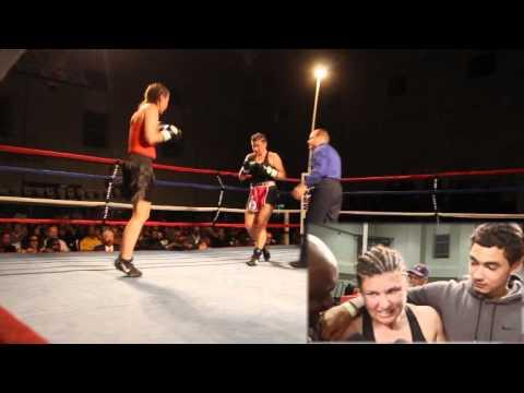 #5 Teresa Perozzi April Ward Fight Night XIV Bermuda March 10 2012