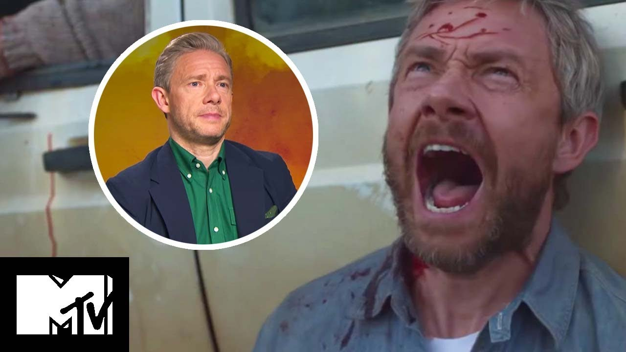 CARGO Movie: Martin Freeman Reveals SCARIEST Zombie Effects BEHIND THE SCENES | MTV Movies