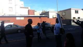 Killer cop Pat Gonzales shamed @ rally for Andy Lopez (11-9-13)